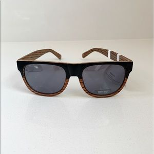 Unisex Wood Grain Sunglasses by Icon Eyewear